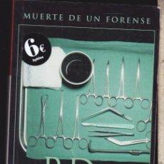 Livres d'occasion: MUERTE DE UN FORENSE ···· P.D. JAMES. Lote 81149888