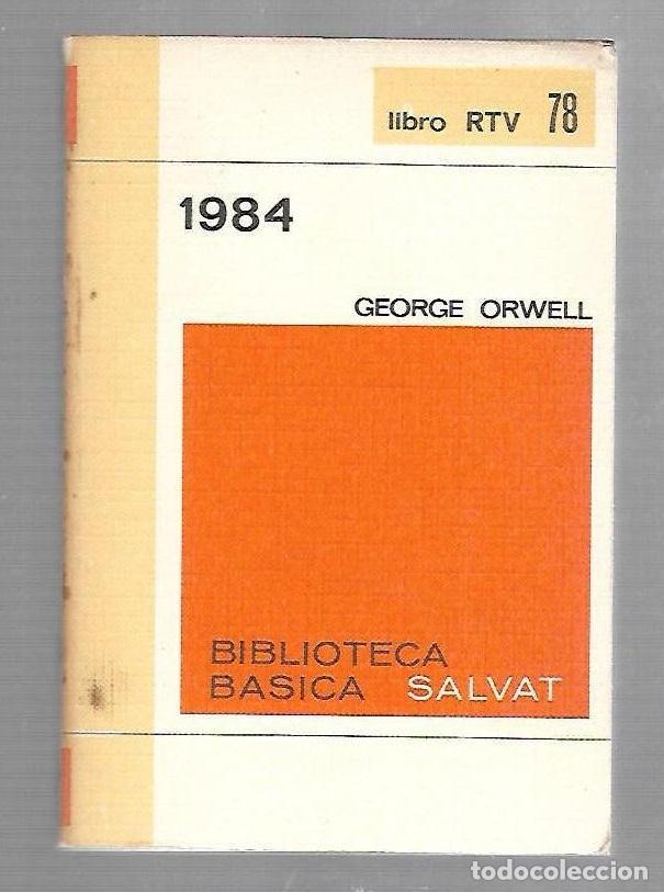Resultat d'imatges de 1984 biblioteca basica salvat