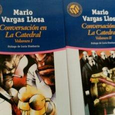 Libros de segunda mano: CONVERSACIÓN EN LA CATEDRAL, DE MARIO VARGAS LLOSA, PRÓLOGO DE LUCÍA ETXEBARRIA .. Lote 81891574