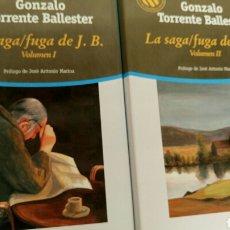 Libros de segunda mano: LA SAGA/FUGA DE J. B., DE GONZALO TORRENTE BALLESTER, PRÓLOGO DE JOSÉ ANTONIO MARINA .. Lote 81892319