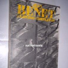 Libros de segunda mano: JEAN BENET.CUENTOS COMPLETOS I.ALIANZA EDITORIAL. 1977.. Lote 82497624