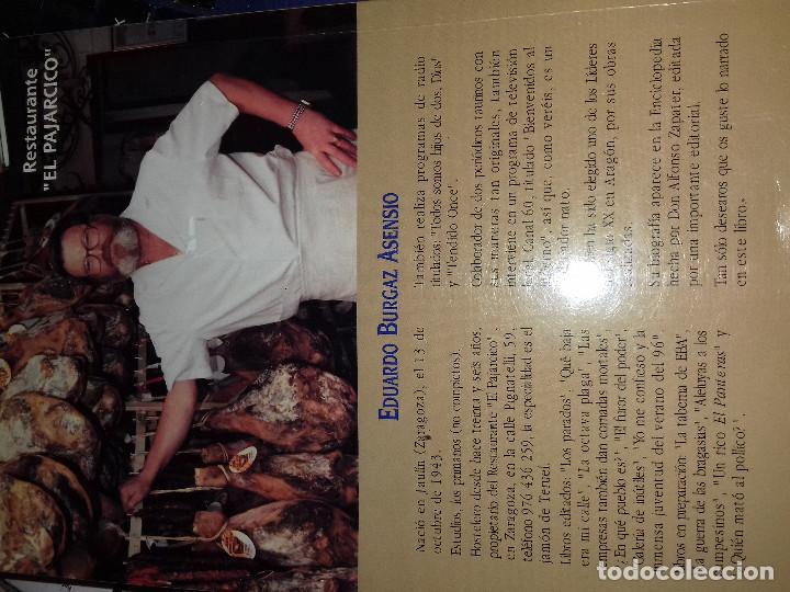 Libros de segunda mano: Perdón, doctores, perdón-Eduardo Burgaz Asensio-EDICIONES LOS FUEROS 1999-DEDICATORIA AUTOR EN HOJA - Foto 3 - 82674352