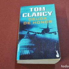 Libros de segunda mano: DEUDA DE HONOR - TOM CLANCY - NO14. Lote 82757448