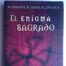 el enigma sagrado+m.baigent, r. leigh, h. lincoln+círculo de lectores, 2000
