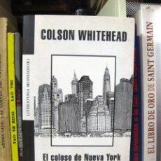 El Coloso De Nueva York Colson Whitehead Lite Sold Through Direct Sale 82937220