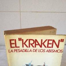 Libros de segunda mano: 16-EL KRAKEN, LA PESADILLA DE LOS ABISMOS, MARIUS LLEGET, 1977. Lote 82981716