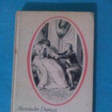 Libros de segunda mano: LA DAMA DE LAS CAMELIAS - ALEXANDRE DUMAS. CIRCULO LECTORES EN 1967.. Lote 83069200