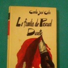 Libros de segunda mano: LA FAMILIA DE PASCUAL DUARTE. DE CAMILO JOSE CELA. CIRCULO DE LECTORES. Lote 83184008