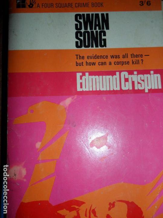 Swan song, Edmund Crispin, en inglés, ed  A Four square Books