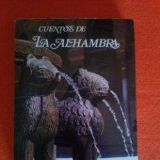 Libros de segunda mano: CUENTOS DE LA ALHAMBRA POR WASHINGTON IRVING - MIGUEL SÁNCHEZ ........1980......FÁBULAS.... Lote 83613740