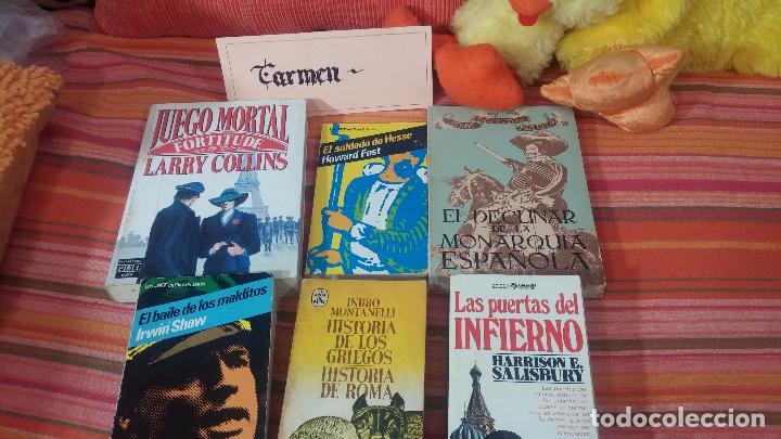 LOTE DE 6 LIBROS VARIADOS Nº12 (Libros de Segunda Mano (posteriores a 1936) - Literatura - Narrativa - Otros)