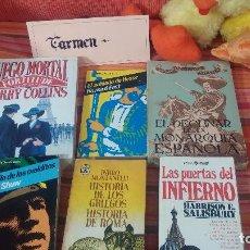 Libros de segunda mano: LOTE DE 6 LIBROS VARIADOS Nº12. Lote 83616564