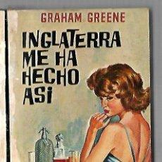 Libros de segunda mano: INGLATERRA ME HA HECHO ASI. GRAHAM GREENE. 1965. PLAZA & JANES. Lote 83991960