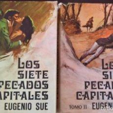 Libros de segunda mano: LOS SIETE PECADOS CAPITALES (2 TOMOS) / EUGENIO SUE. Lote 84425248