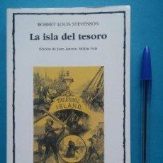 Libros de segunda mano: LA ISLA DEL TESORO EDICIONES - CÁTEDRA. Lote 84514196