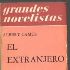 Libros de segunda mano: ALBERT CAMUS : EL EXTRANJERO (EMECÉ, 1958). Lote 84800380