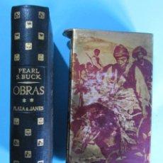 Libros de segunda mano: PEARL S. BUCK. OBRAS TOMO II. PLAZA Y JANÉS EDITORES, 1961. PRIMERA EDICIÓN.. Lote 84952432