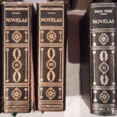 Libros de segunda mano: COLECCION ANTIGUOS LIBROS NOVELAS CLASICOS CONTEMPORANEOS EDITORIAL PLANETA BUCK BAUM. Lote 85553972