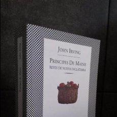 Libros de segunda mano: PRINCIPES DE MAINE REYES DE NUEVA INGLATERRA. JOHN IRVING. FABULA TUSQUETS 1996.. Lote 85651844