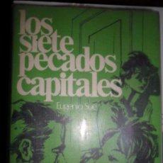 Libros de segunda mano: LOS SIETE PECADOS CAPITALES, EUGENIO SUE, ED. RODEGAR. Lote 86992136
