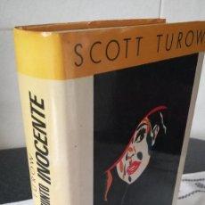 Libros de segunda mano: 63-PRESUNTO INOCENTE- SCOTT TURROW, 1988. Lote 86997024