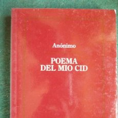 Libros de segunda mano: POEMA DEL MIO CID. Lote 87306116
