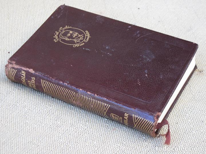 GABRIEL Y GALAN - OBRAS COMPLETAS - AGUILAR. 1961 (Libros de Segunda Mano (posteriores a 1936) - Literatura - Narrativa - Otros)