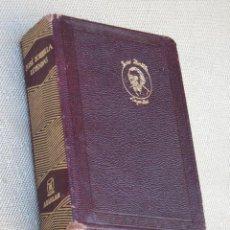 Libros de segunda mano: JOSE ZORRILLA - LEYENDAS. EDITORIAL AGUILAR 1963.. Lote 87334912