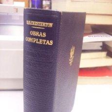 Libros de segunda mano: OBRAS COMPLETAS, TOMO I PROSAS. - NERVO, AMADO.. Lote 34419791