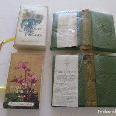Libros de segunda mano: WILLIAM SAROYAN. OBRAS. TOMOS I Y II. DOS TOMOS. RM81170. . Lote 88273004