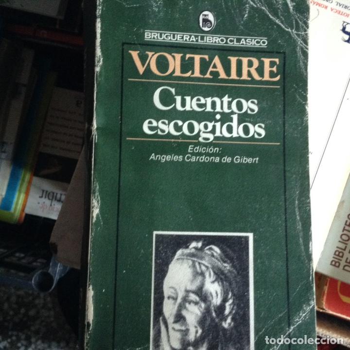 CUENTOS ESCOGIDOS. VOLTAIRE (Libros de Segunda Mano (posteriores a 1936) - Literatura - Narrativa - Otros)