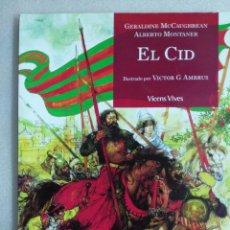 Libros de segunda mano: EL CID - CLASICOS ADAPTADOS - VICENS VIVES - ILUSTRADO POR VICTOR G. AMBRUS . Lote 102829091