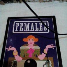 Libros de segunda mano: *C6__LIBRO ,FEMALES __SOLO FOTOS_MIDE 30X22X0,25CM,TIENE POCAS PAGINAS. Lote 89403600