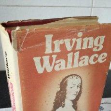 Libros de segunda mano: 59-NINFOMANAS Y OTRAS MANIACAS, IRVING WALLACE, 1977. Lote 89560140