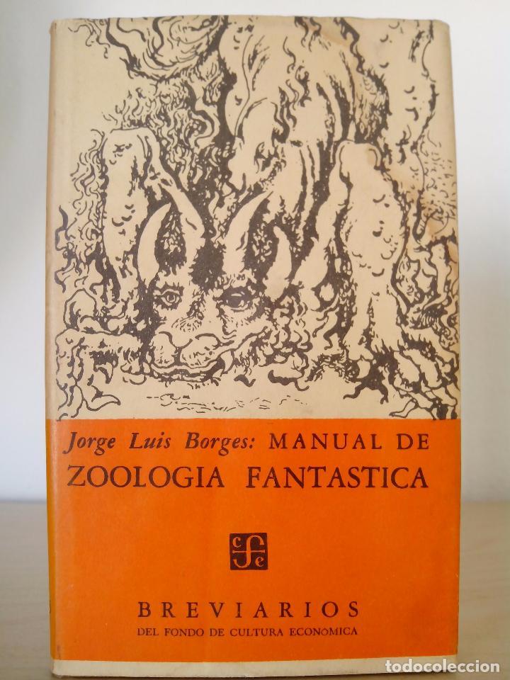 Libro manual de zoologia fantastica / fantastic zoology $ 256,33.