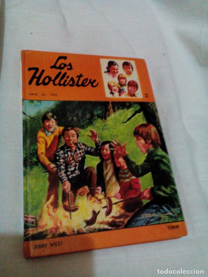 *C6__LIBRO ,LOS HOLLISTER VAN AL RIO_MIDE 21X15X2M,TIENE 207 PAGINAS (Libros de Segunda Mano (posteriores a 1936) - Literatura - Narrativa - Otros)