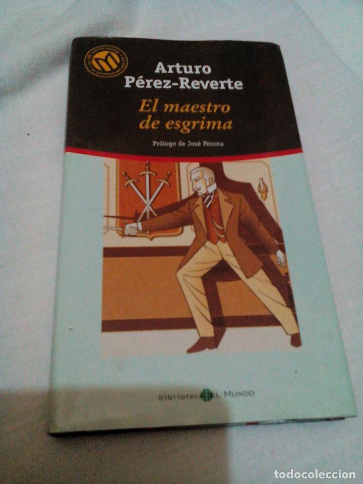 *C6__LIBRO ,EL MAESTRO DE ESGRIMA DE ARTURO PEREZ REVERTE_MIDE 21X12X2M,TIENE 222 PAGINAS (Libros de Segunda Mano (posteriores a 1936) - Literatura - Narrativa - Otros)