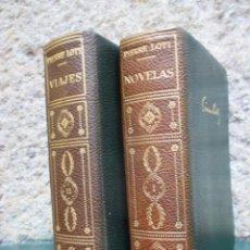 Livros em segunda mão: PIERRE LOTI - NOVELAS TOMO I VIAJES TOMO II - EXCELENTE, PIEL DE EDITORIAL, VER FOTOS. Lote 90567250