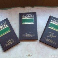 Libros de segunda mano: GRANDES AUTORES ESPAÑOLES DEL SIGLO XX Nº 16,29,56. Lote 90991625