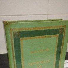 Libros de segunda mano: 14-MEMORIAS DE FOUCHE, JOSE FOUCHE, 1973. Lote 91364700
