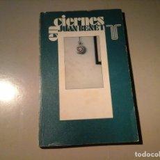 Libros de segunda mano: JUAN BENET. EN CIERNES. PRIMERA EDICIÓN 1976. TAURUS. POSMODERNIDAD.. Lote 92072250