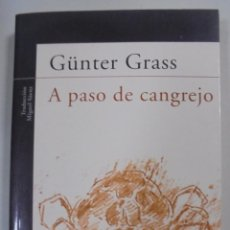 Libros de segunda mano: A PASO DE CANGREJO. GÜNTER GRASS. ALFAGUARA. 2003. SANTILLANA EDI. GENERALES. 244 PAGINAS. 23X14CM. Lote 92106095
