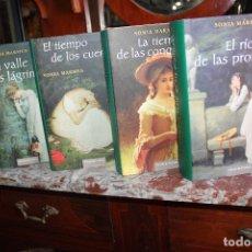 Libros de segunda mano: ALMA DE HIGHLANDER I,II,III Y IV,SONIA MARMEN.EL VALLE DE LAS LAGRIMAS-EL TIEMPO DE LOS CUERVOS.... Lote 92278350