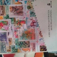 Libros de segunda mano: AGRICULTURA Y NATURALEZA EN EL SELLO ESPAÑOL. Lote 31179256