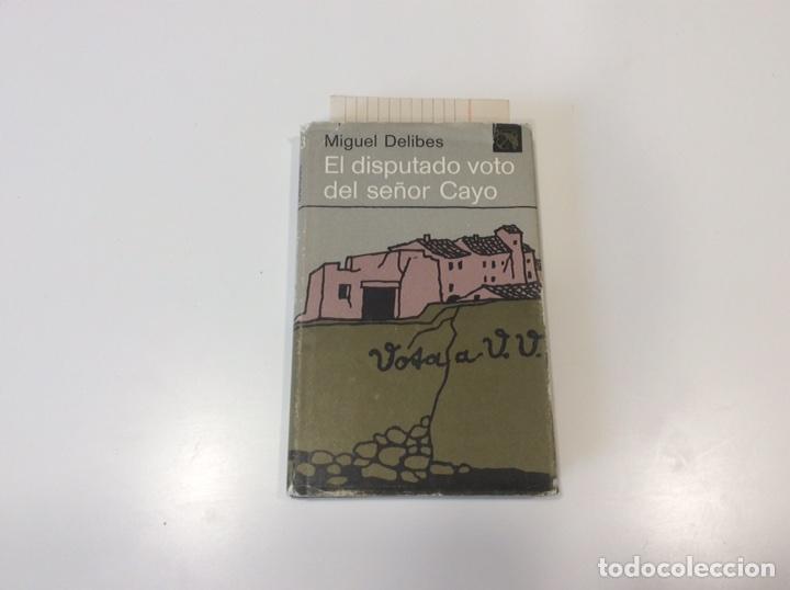 EL DISPUTADO VOTO DEL SEÑOR CAYO / MIGUEL DELIBES -ED. DESTINO (Libros de Segunda Mano (posteriores a 1936) - Literatura - Narrativa - Otros)