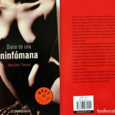 Libros de segunda mano: DIARIO DE UNA NINFOMANA - VALERIÉ TASSO - DEBOLSILLO - USADO - ENVIO GRATIS. Lote 93929845