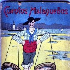 Libros de segunda mano: CUENTOS MALAGUEÑOS-POR NARCISO DIAZ DE ESCOBAR-DIBUJOS DE MARQUEZ-158 PAGINAS-VER FOTOS ADICIONALES. Lote 93948245