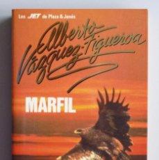 Libros de segunda mano: ALBERTO VAZQUEZ FIGUEROA // MARFIL // PLAZA Y JANÉS // 1990 // SIN USAR. Lote 94066380
