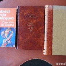 Livros em segunda mão: MARIO VARGAS LLOSA GUERRA FIN MUNDO LA CIUDAD Y LOS PERROS GABRIEL GARCÍA MARQUEZ CIEN AÑOS SOLEDAD. Lote 94463578