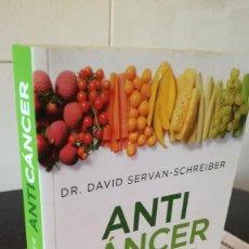 Libros de segunda mano: 63-ANTI CANCER, DR. DAVID SERVAN-SCHREIBER, 2014. Lote 94723407
